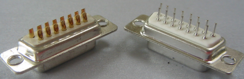 D                     connector types