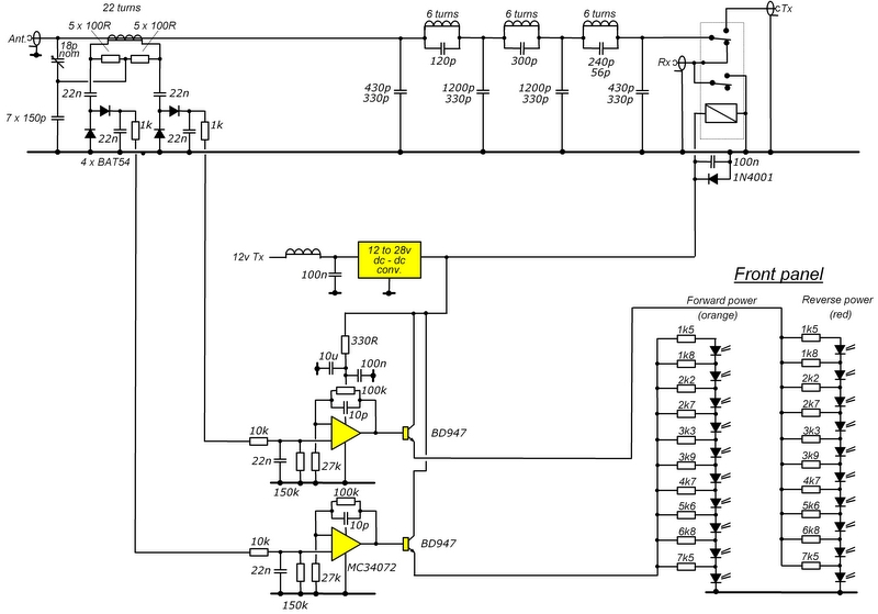 Output LPF and display